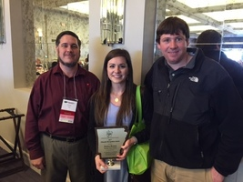 Gifted and Talented Facilitator Jessica Brown Recognized at State Conference