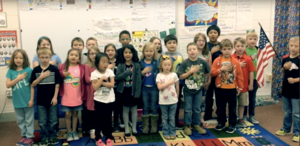 EEE News with Ms. Alexander's 1st Grade Class