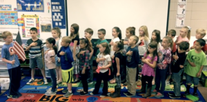 EEE News with Mrs. Martin's 1st Grade Class