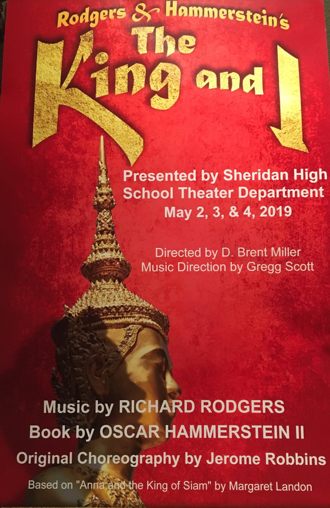 King and I flyer