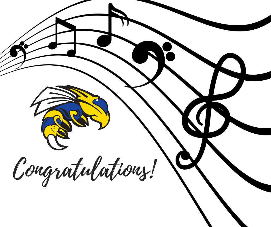 Congratulations to our SJHS students who won chairs in the ASBOA Region 3 Junior High All-Region Bands this weekend!