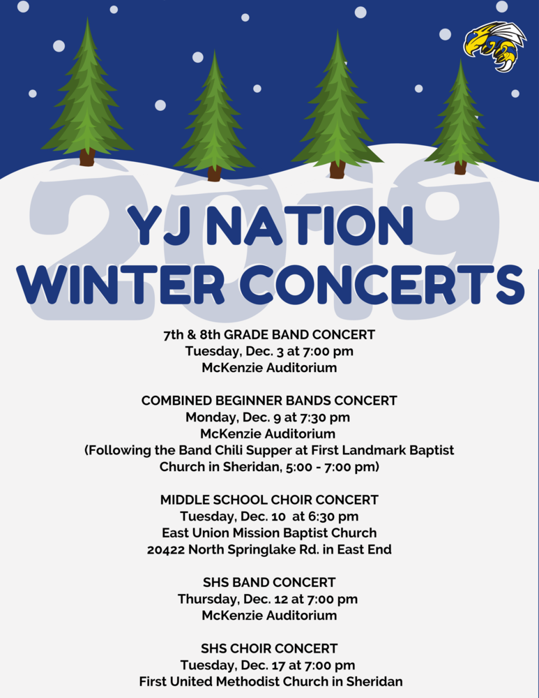 2019 Winter Concerts