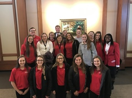 Sheridan High School FCCLA students took home several medals yesterday at the FCCLA District 4 Leadership conference