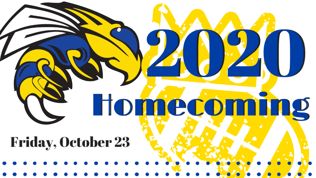 Image that says Homecoming