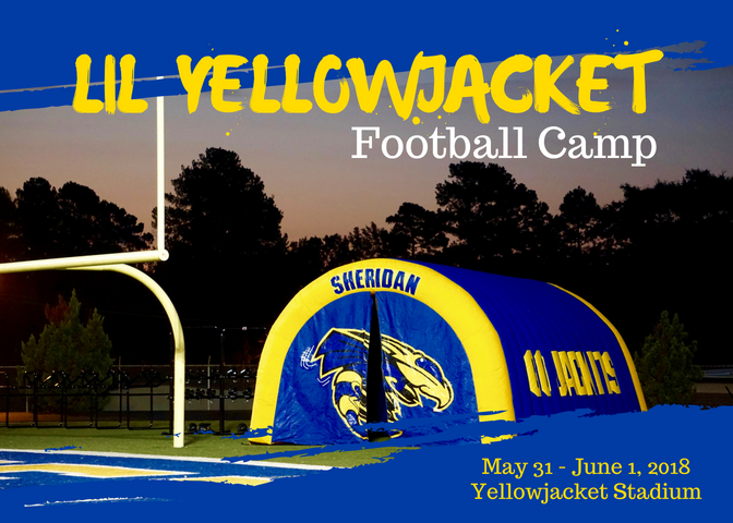 Lil YellowJacket Football Camp