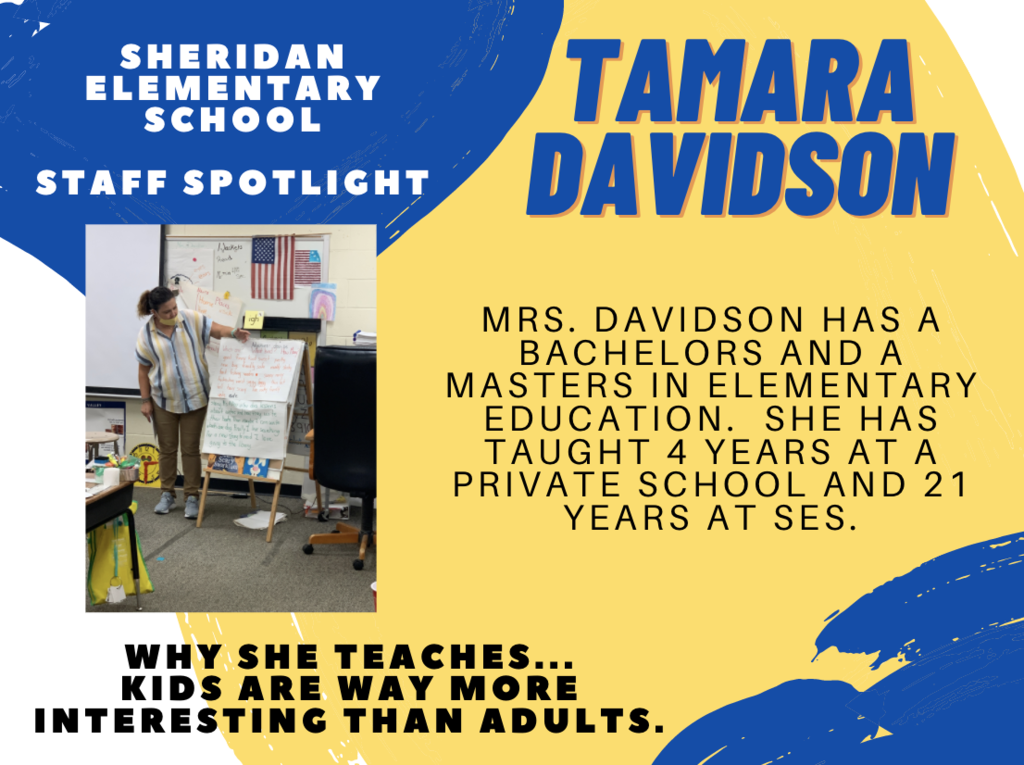 SES Staff Spotlights of the Week, Tamara Davidson and Sara Allen