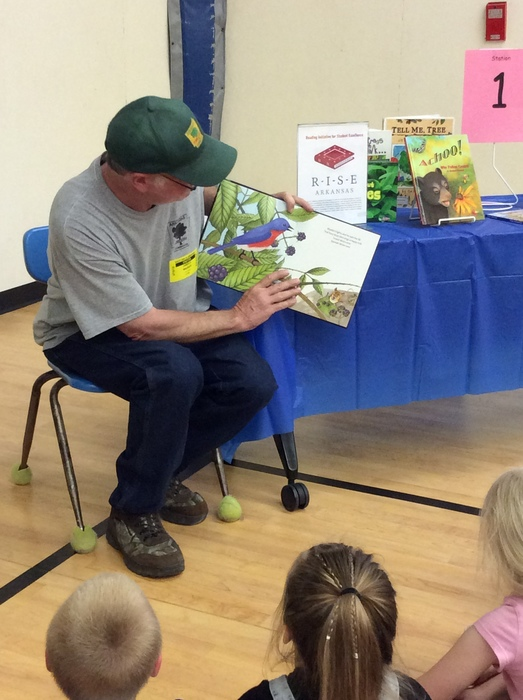 Thanks to the guys from Arkansas Forestry for reading with us!