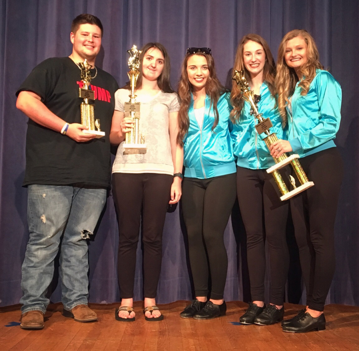 SHS Talent Show First, Second, and Third Place Winners