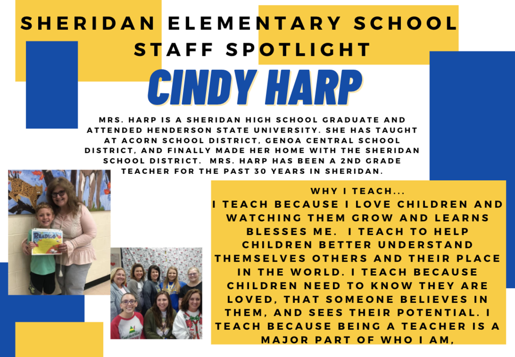 Cindy Harp, 2nd Grade Teacher