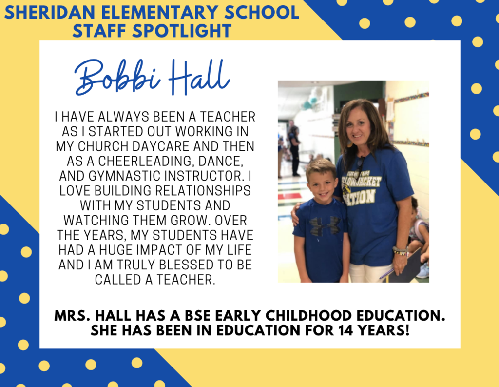 Bobbi Hall, SES 2nd Grade Teacher