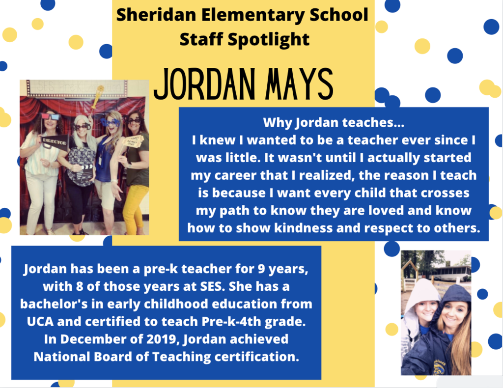 Jordan Mays, PreK Teacher