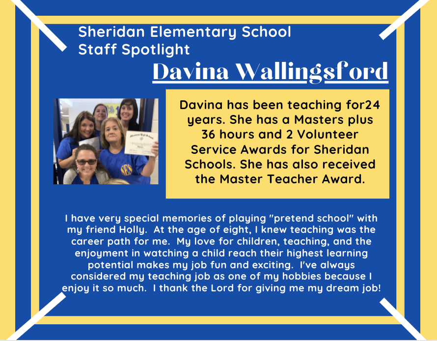 Davina Wallingsford, Literacy Interventionist