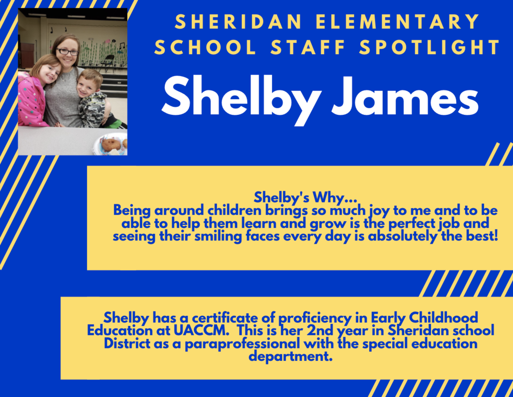 Shelby James, SPED Paraprofessional