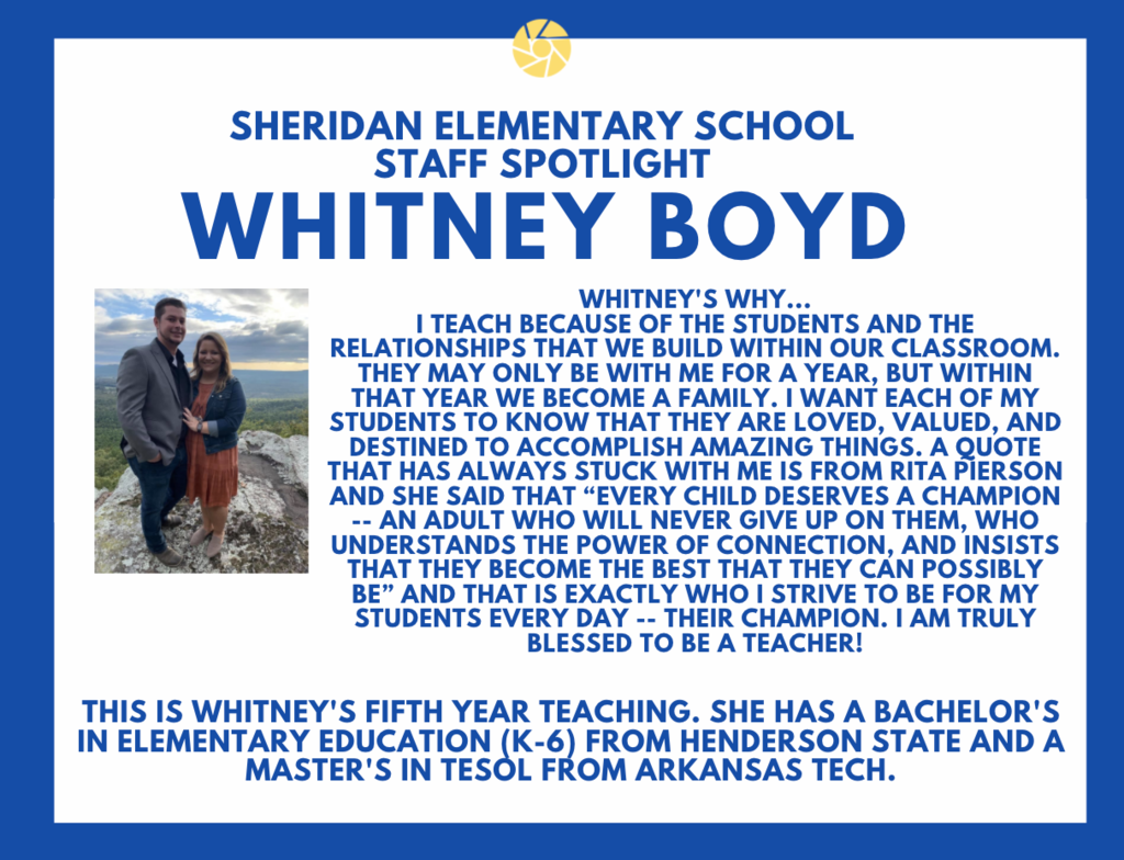 Whitney Boyd, 2nd Grade Teacher