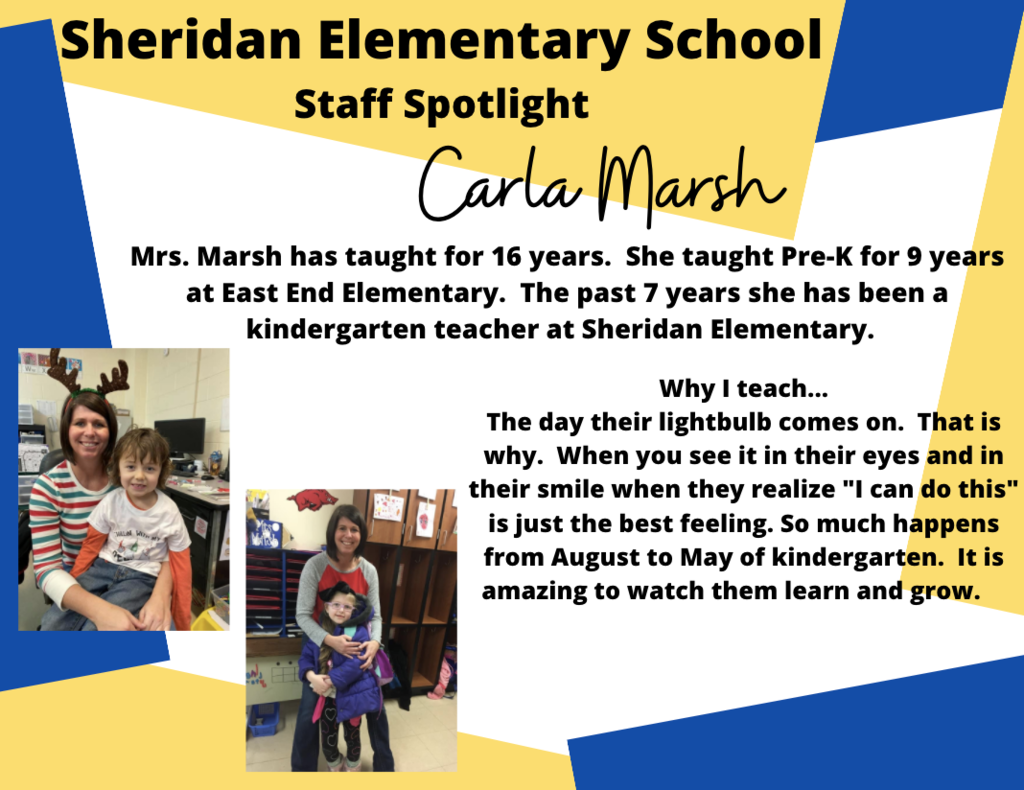 Carla Marsh, Kindergarten Teacher