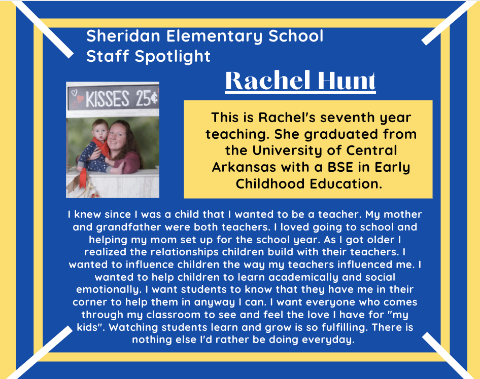 Rachel Hunt, 1st Grade Teacher