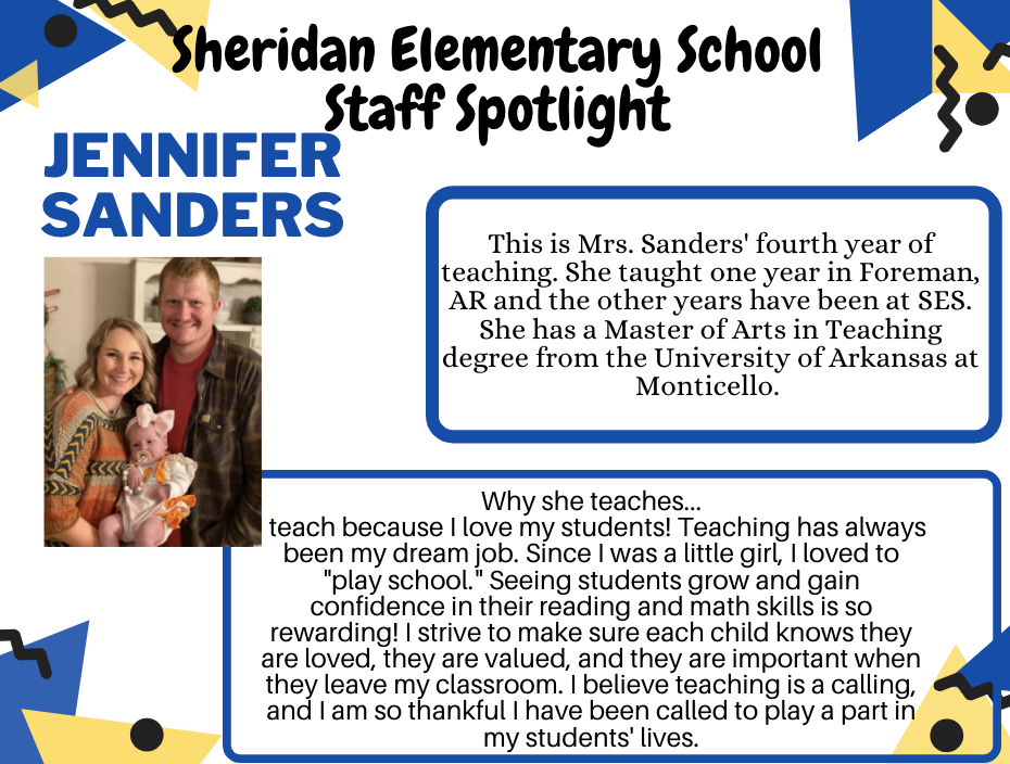 Jennifer Sanders, 2nd Grade Teacher