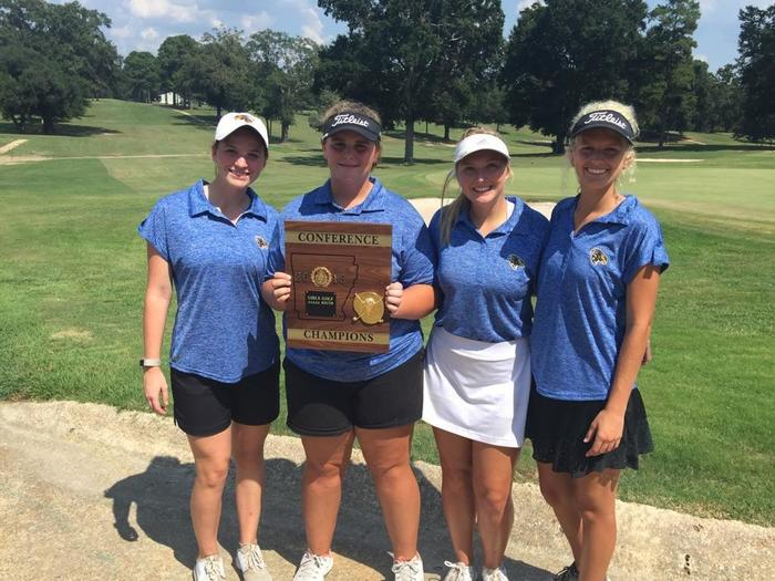 5A  South Girls Golf Champions