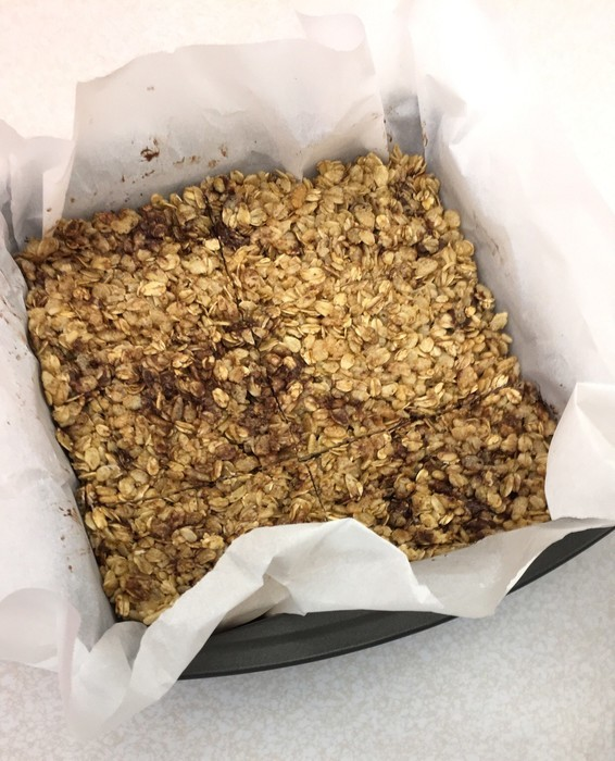 granola bars made by students in FACS class