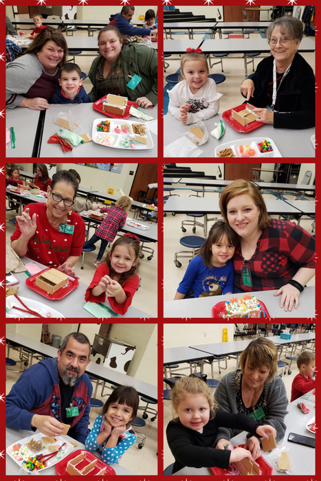 PreK Gingerbread Houses
