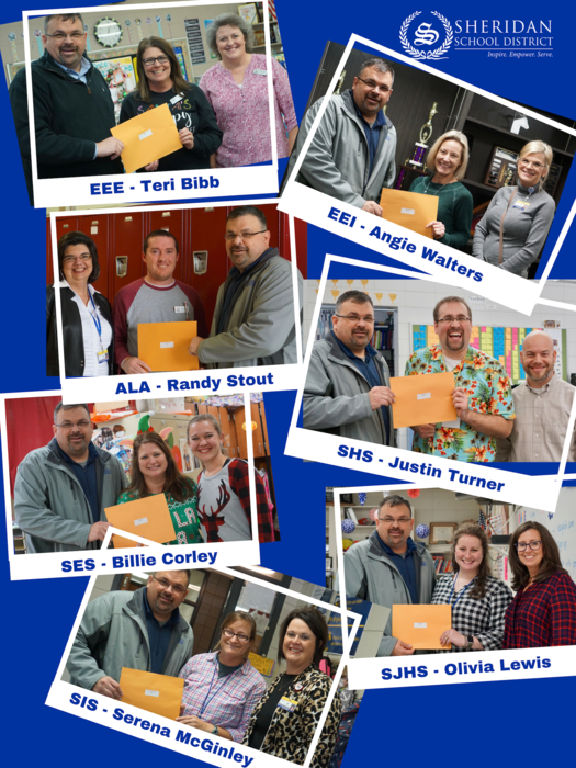 Pictures of the Teacher of the Year Nominees
