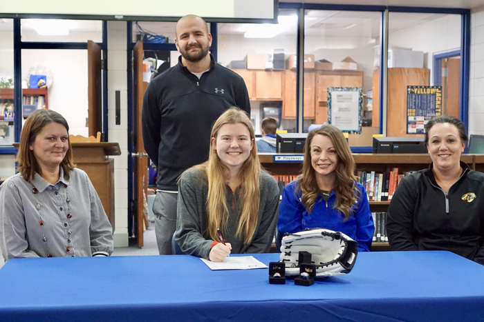 Kassi signs to play softball in college