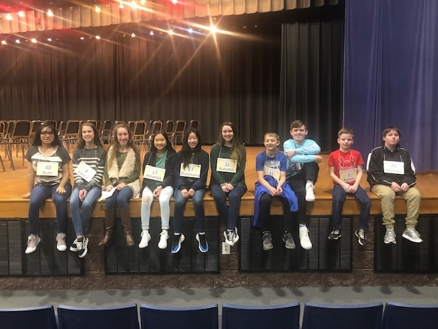 SJHS @ Grant County Spelling Bee