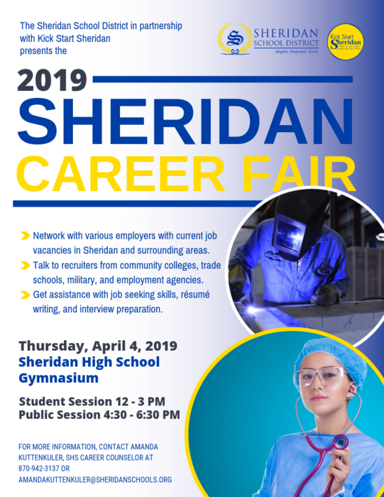 Image of Career Fair Flyer