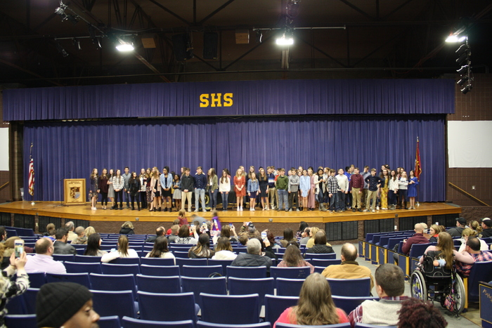 Picture of Beta Club Inductees