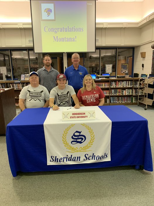 Picture of Montana signing