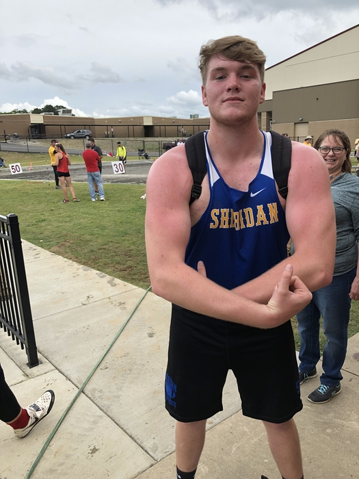 Jacob Oliver State Champion 5A Sr Boys Discus