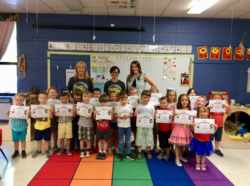Picture of PreK class