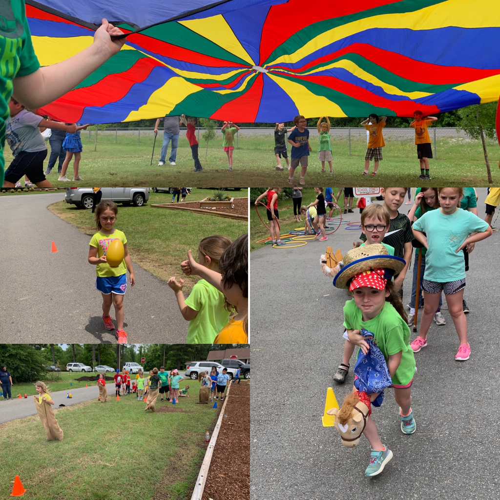 First Grade field day 2019