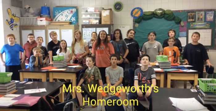 Picture of Mrs. Wedgeworth's Homeroom