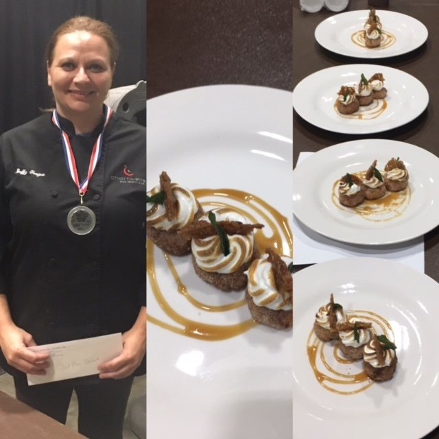 SJHS Food Manager Earns 2nd place at State Culinary Competition