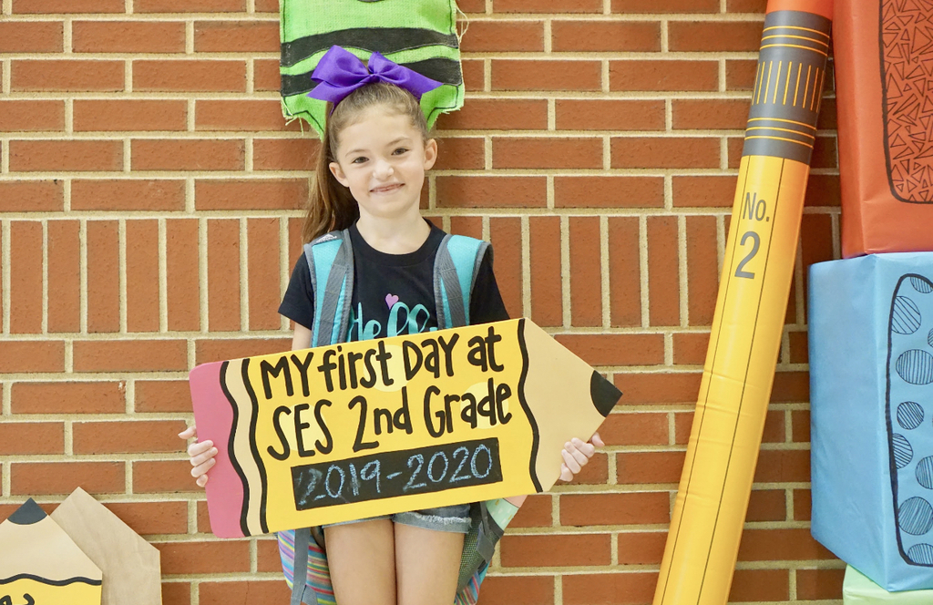 First Day if Second Grade
