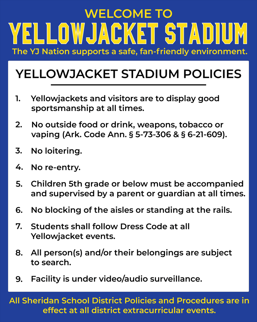 Image of Stadium Rules