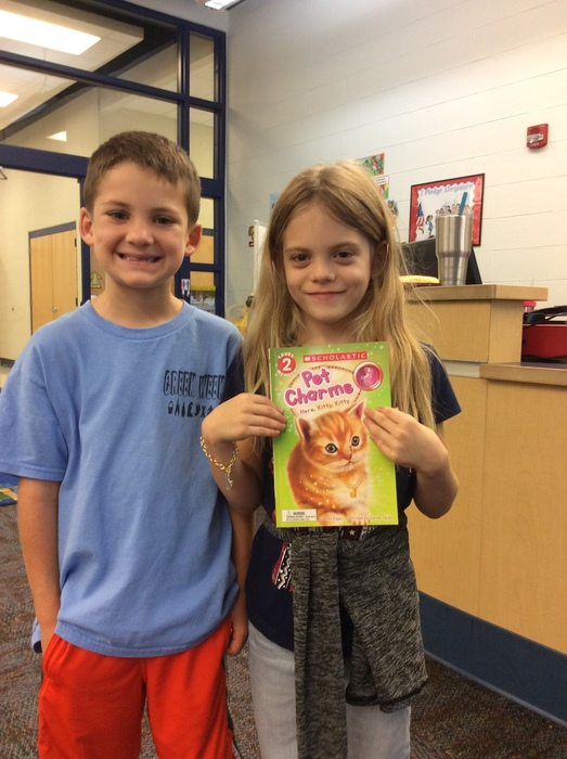 Friends + Books = Happy Readers at EEE
