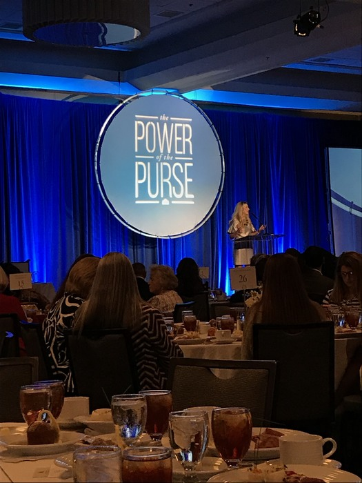 Image of speaker at Power of the Purse conference