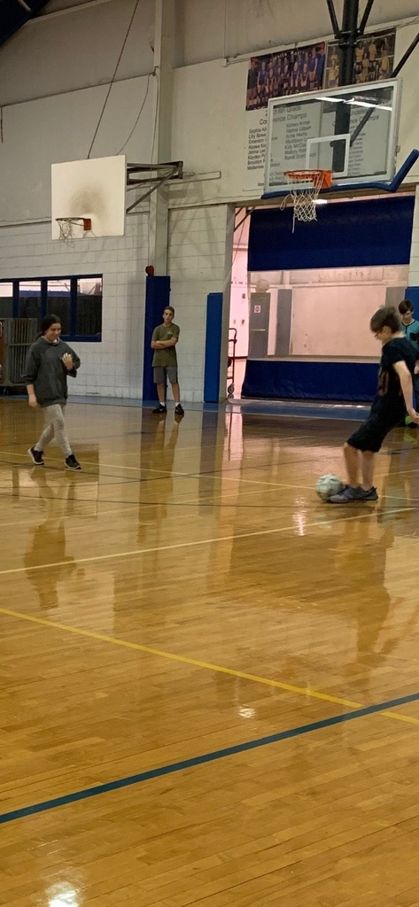 SMS PE Classes Learning Soccer