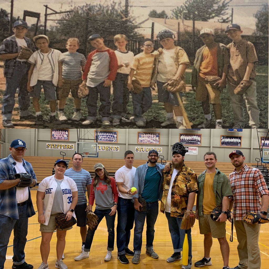 Coaches dressed as The Sandlot