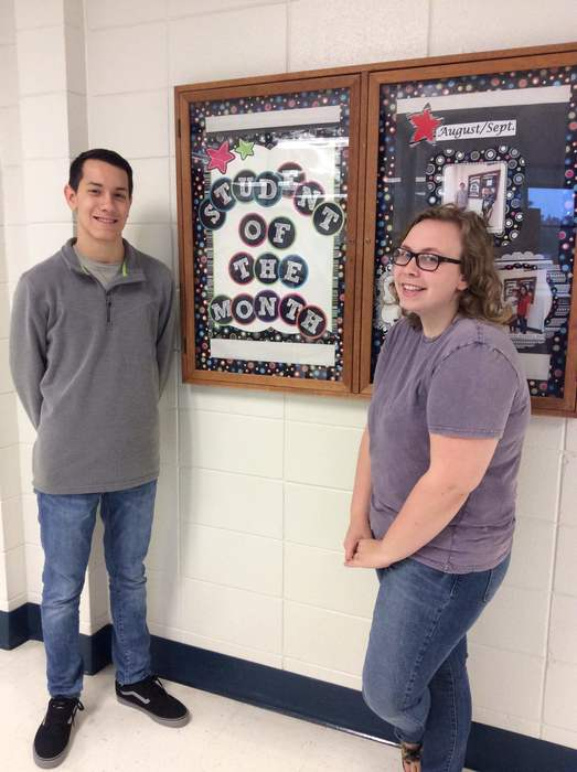 Senior Oct. Students of the Month