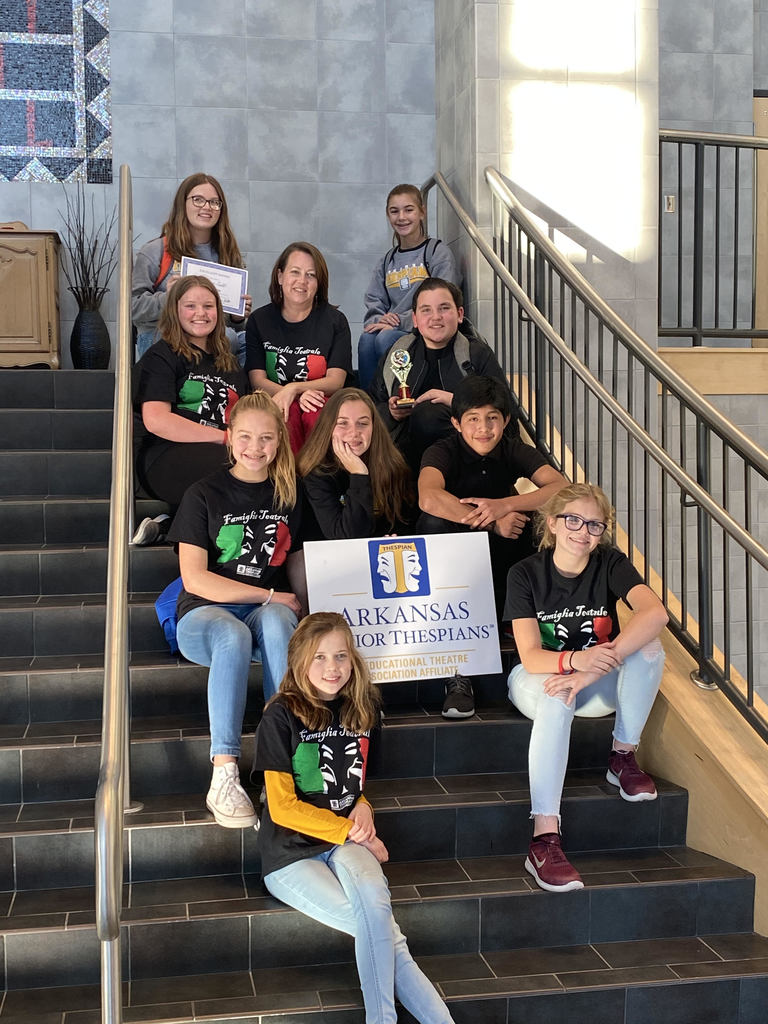 Sheridan Junior Thespians at the Arkansas Junior Thespian Festival