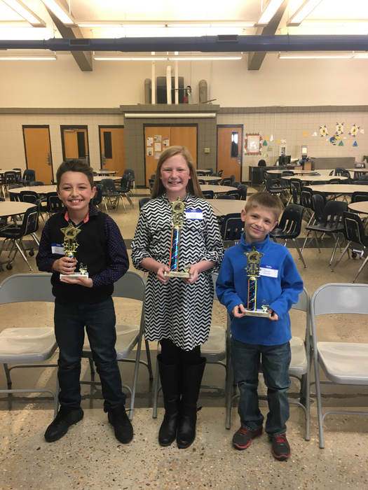 SIS Spelling Bee Winners