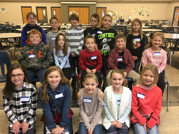 SIS Spelling Bee participants