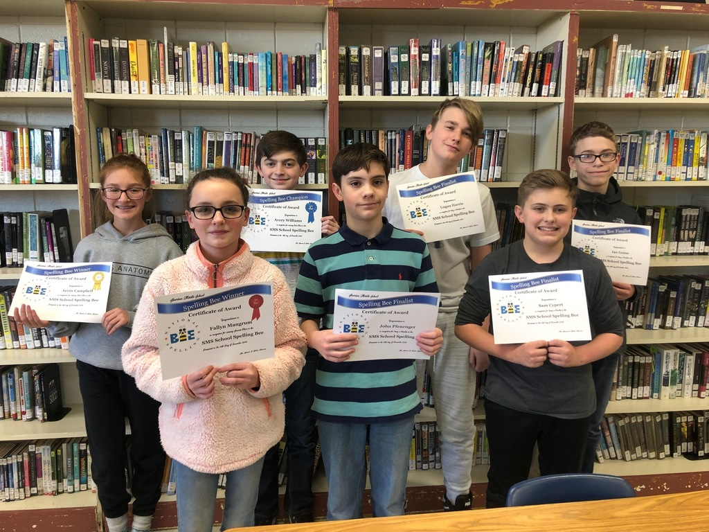 SMS Spelling Bee Finalists