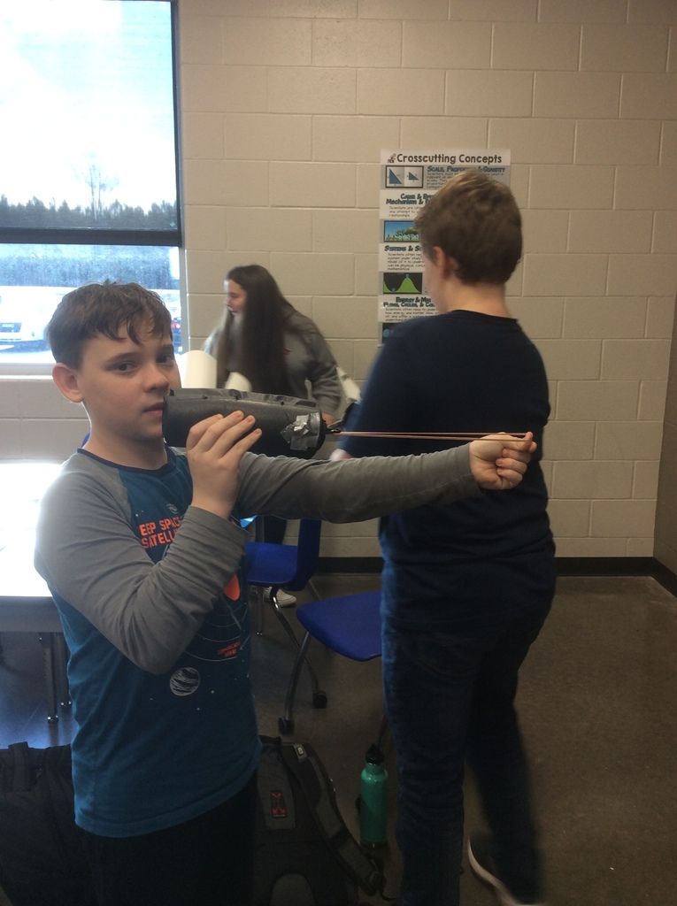 7th-grade STEM Challenge - Rocket Launchers