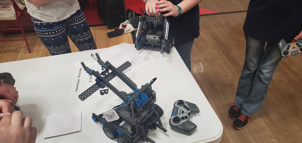 VEX IQ winter showdown competition
