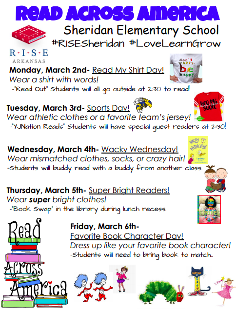 SES Read Across America Week