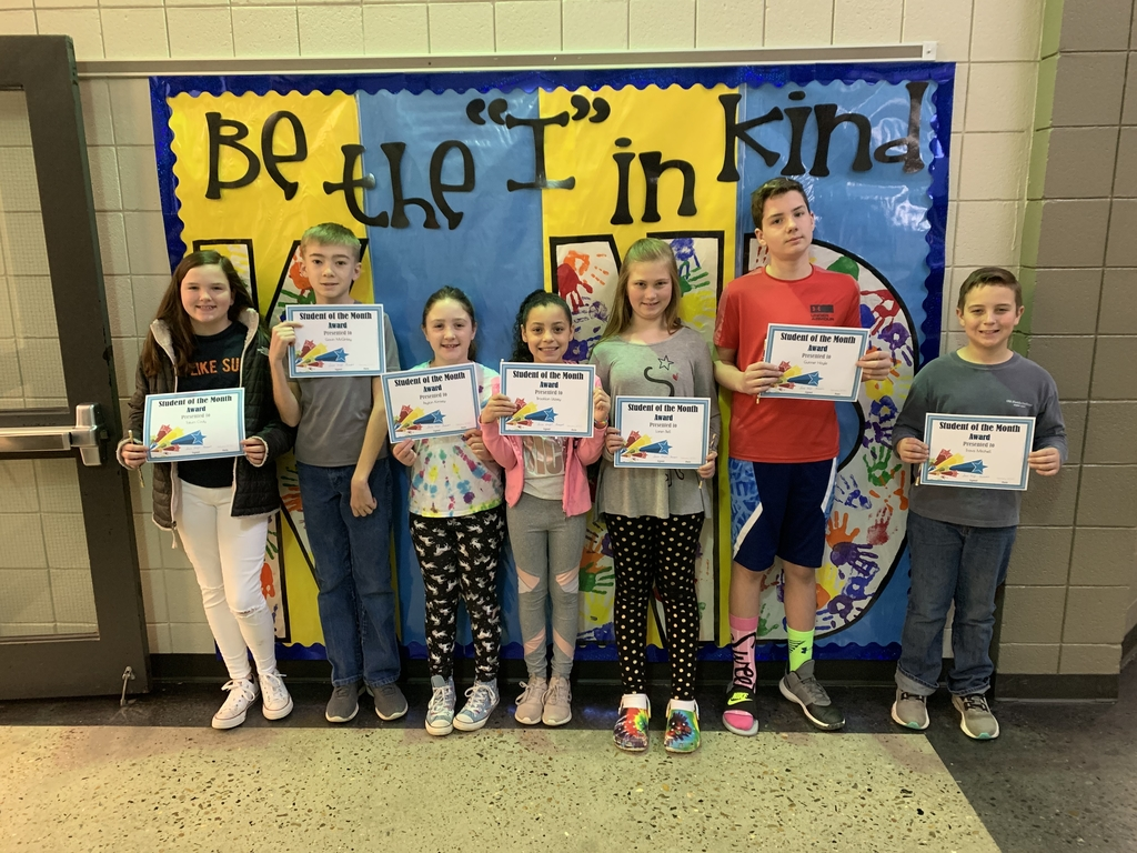 February Students of Month